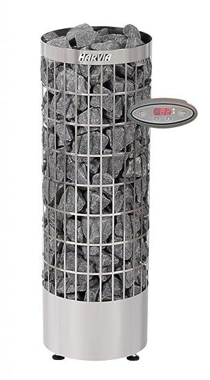 Estufa de sauna eléctrica Harvia Cilindro PC70EE 6,8 kW para saunas familiares 6-10 m³: Amazon.es: Bricolaje y herramientas