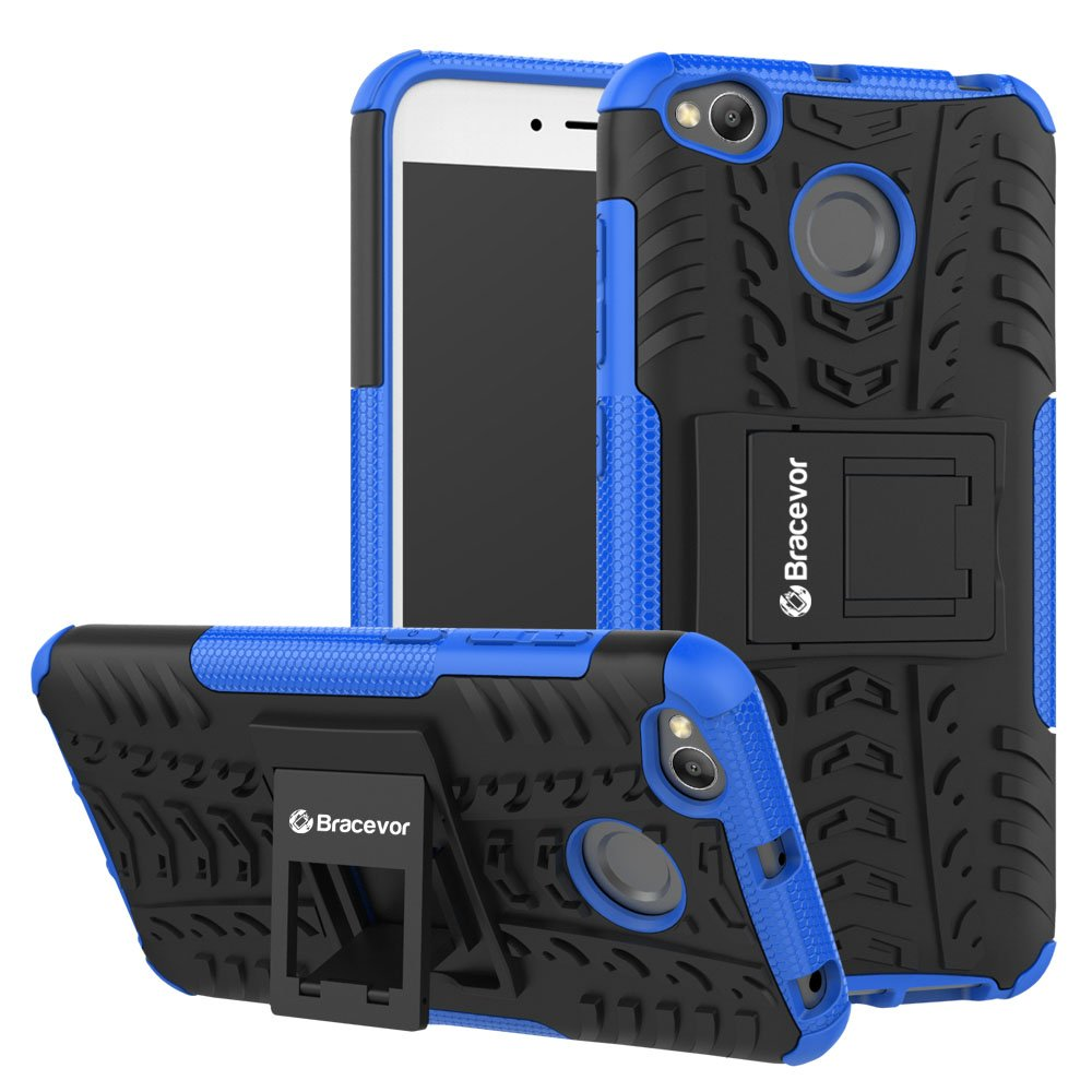 Bracevor Xrd4xdksbu Back Case Cover With Kickstand For Ipaky Carbon Fiber Redmi Note 5 Pro Softcase Shockproof Tpu Backcase Electronics