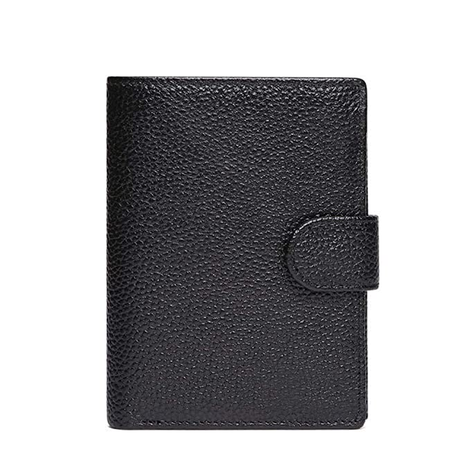 Amazon.com: DUDUO-Bag Genuine Leather Wallet for Men Best 3 ...