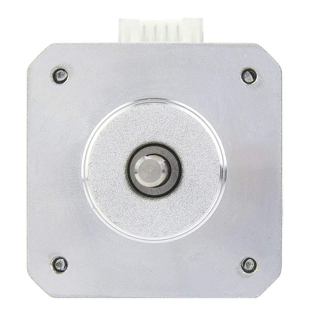 DC2.4V 1.5A Moteur pas /à pas biphas/é /à haute stabilit/é /à 2 phases de 1,8 /° pour la machine de gravure CNC 40mm adapt/é aux imprimantes 3 dimensions