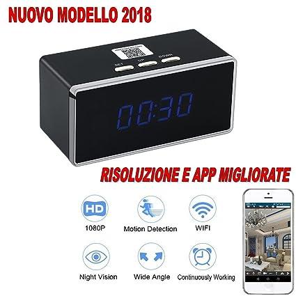 Reloj despertador WiFi IP 3 G Cam Full HD 1080p espía cámara video audio fotos cw242
