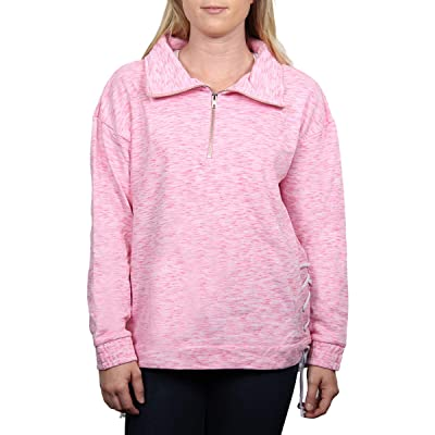 SALT CREEK APPAREL Ladies State Terry Side LACE 1/2 Zip Jacket at Women's Clothing store - Click Image to Close