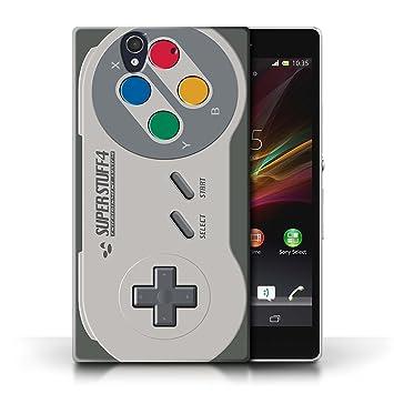 Carcasa/Funda STUFF4 dura para el Sony Xperia Z / serie: Consola de juegos - Super Nintendo
