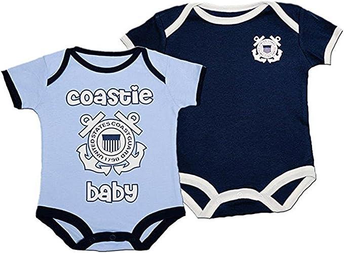 Coast Guard Infant 2 Pc Bodysuits