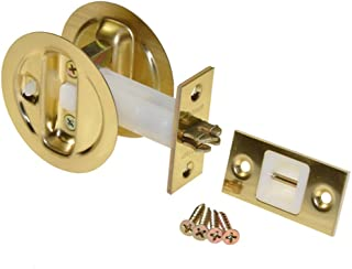 product image for Johnson Hardware Brass Pocket Door Privacy Lock