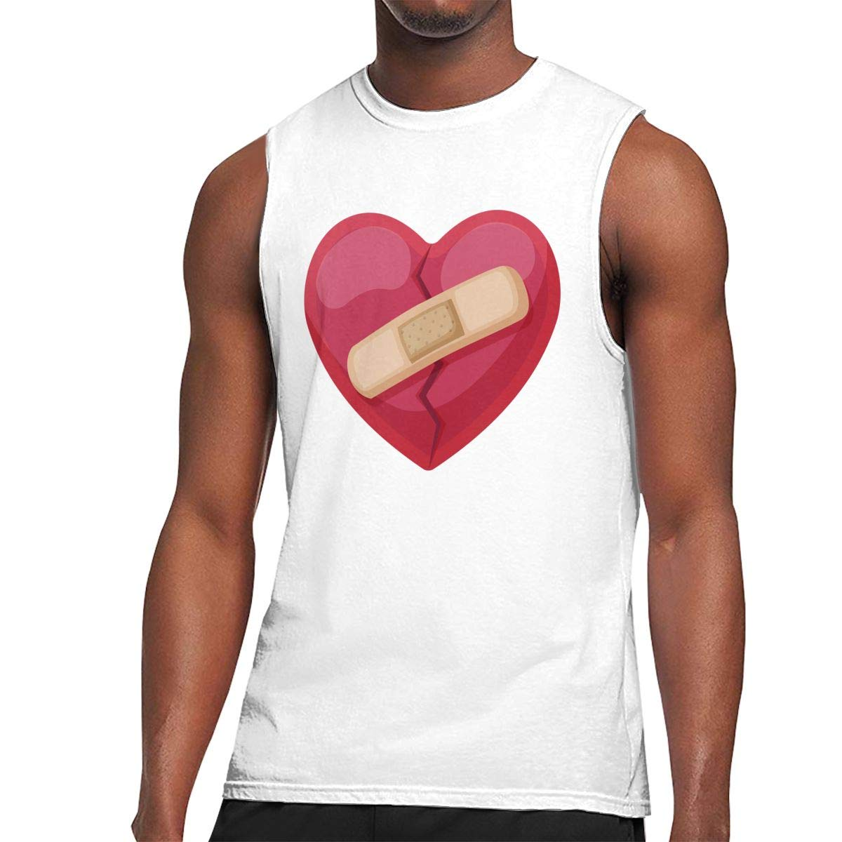 S Muscle Tank Top Softball Valentines Day Love Gym Trainingtech Running Activewear Shirts