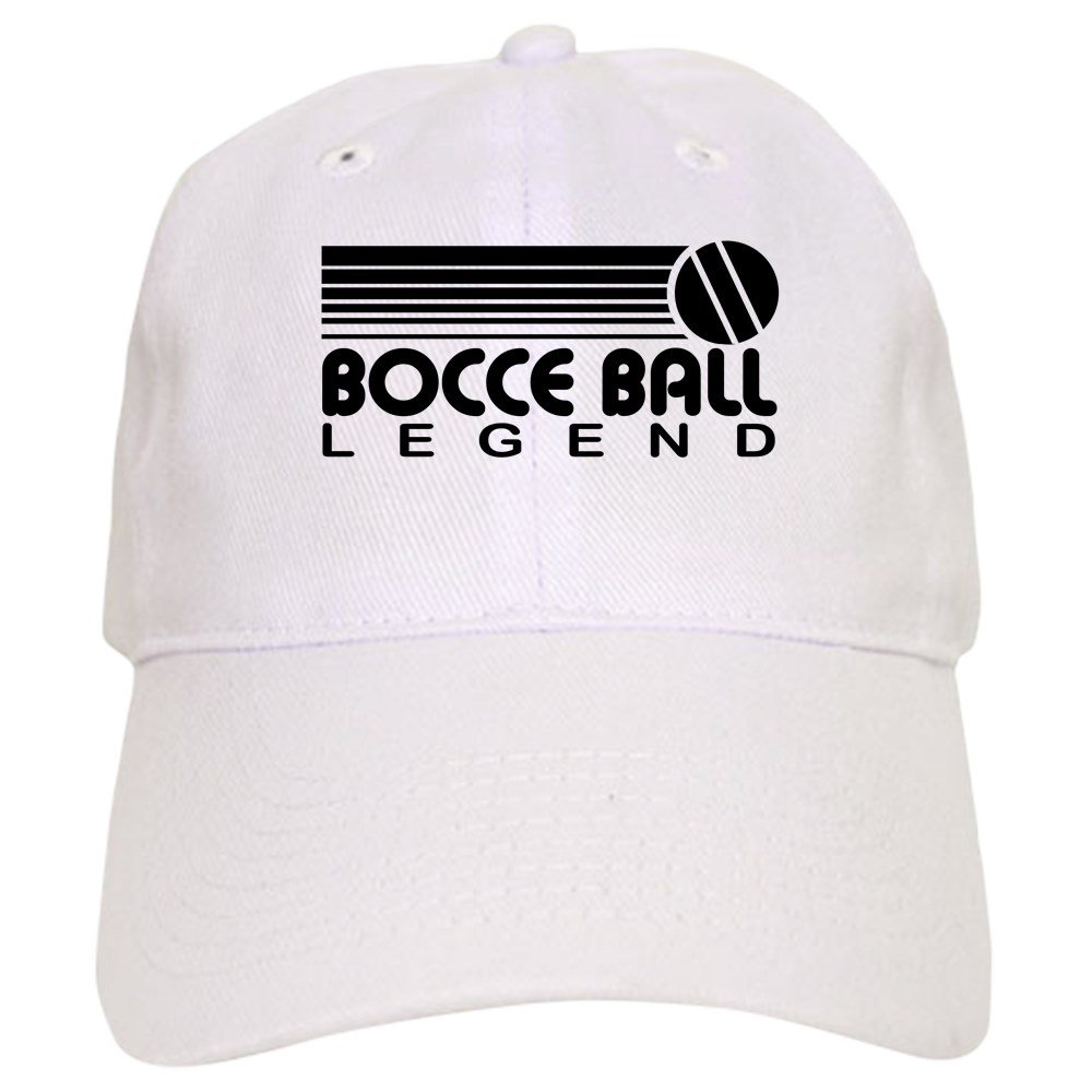50fa5bea3c8 CafePress - Bocce Ball Legend - Baseball Cap with Adjustable Closure ...