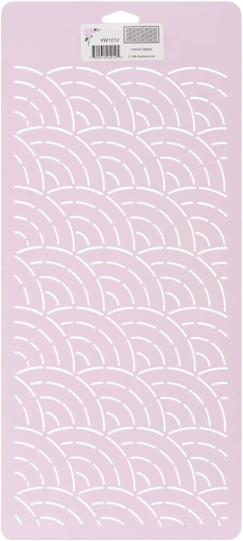 L Design 8X18 Sten Source Quilt Stencils-Overall C