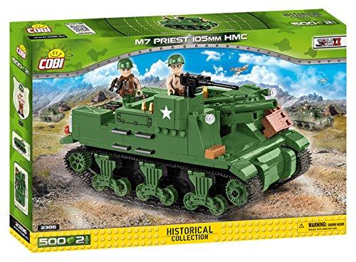 COBI M7 Priest 105mm HMC Tank, Green