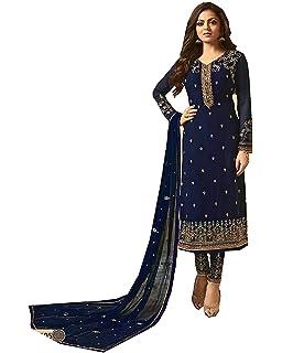 Amazon.com: Bollywood colección pakistaní recto Salwar traje ...