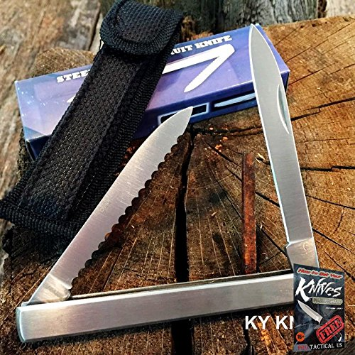 "HARVEST FRUIT Elite Knife MELON TESTER, 4 5/8"" CLOSED With Holster NEW 210960 + free eBook by ProTactical'US"