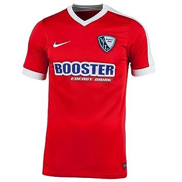 Nike VFL Bochum 1848 Fútbol camiseta Away 2016 2017 Hombre de Manga Corta Rojo