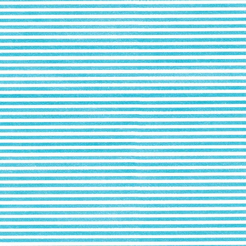 Entertaining with Caspari Continuous Gift Wrapping Paper, Seersucker Stripe, Turquoise, 5-Feet, 1-Roll ()