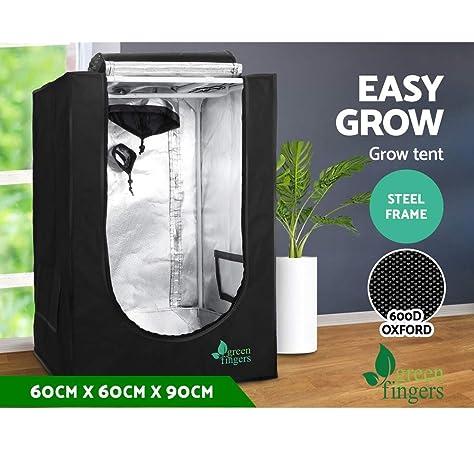 "VIVOSUN 32/""x32/""x62/"" 80x80x160cm Mylar Hydroponic Grow Tent  for Plant Growing"