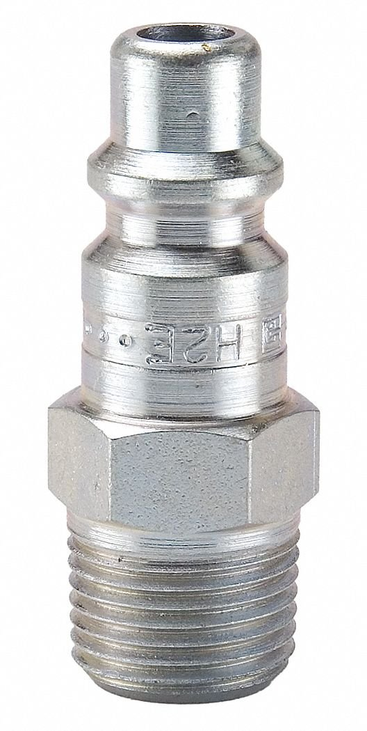 MNPT Pipe 1//8 in Parker H00E Coupler Plug Steel