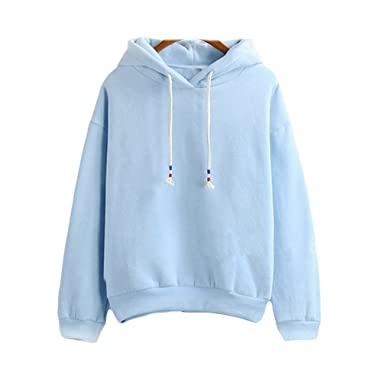 5eb83e7c 2017 Harajuku Pastel Baby Blue Candy Color Hoodies Sweatshirts at ...