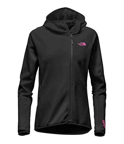cf3a7548b The North Face Pink Ribbon Arcata Hoodie Women's TNF Black/Meadow Pink Small