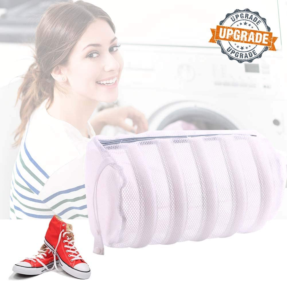 LEFOR·Z Upgraded Shoes Wash Bag Large Mesh Shoes Laundry Bags for Washing Machine,2 in 1 Laundry Dryer for Shoes Sneakers Knitted Socks Shoes