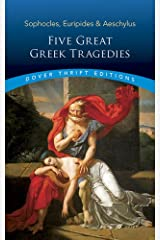 Five Great Greek Tragedies (Dover Thrift Editions) Paperback