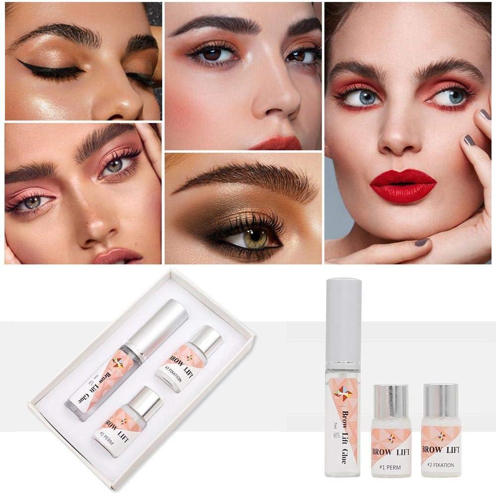 Heoolstranger Set De Cejas, Keratin Eyelash Lifting Eyebrow Styling Esencia De Cejas, Planchado De Cejas Stay Eye Primer