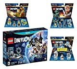 Lego Dimensions Starter Pack + Portal 2 Level Pack + Scooby Doo Team Pack + Jurassic World Team Pack for Nintendo Wii U Console