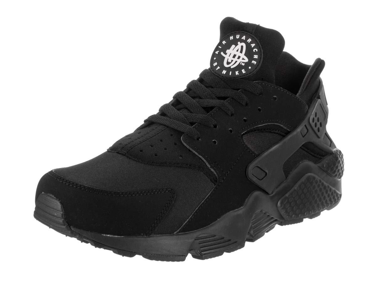 be2bc32cc79e Nike Men s Air Huarache Black Black White Running Shoe 13