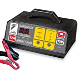 Auto7708.945- Cargador de batería 100% automático, 12A /12V, para baterías de 10a 120Ah