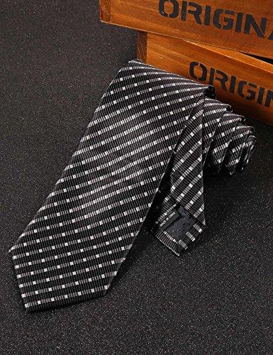 COOFANDY Mens Classic Necktie Fashion Tie Floral Silk Woven Neck Ties