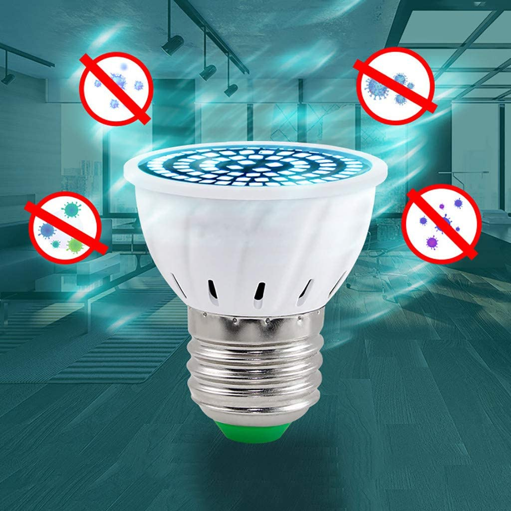 Iw/ähle UVC UV Lampe Gl/ühbirne Antibakterielle Rate 99/% UV Licht Desinfektion Ultraviolet Lampe Sterilisationslampe Desinfektion Lampe UV Sterilisator Desinfektionslampe E27