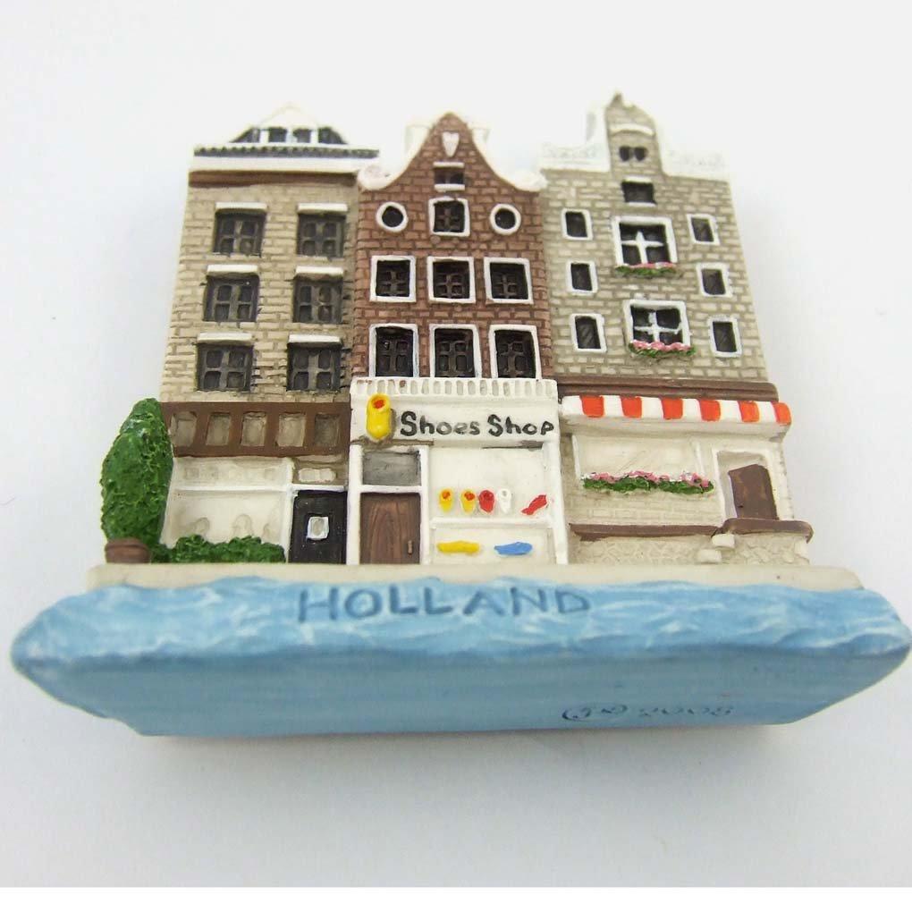 Amazon.com: Art Paint Design Amsterdam Shoe Shop Holland Fridge ...