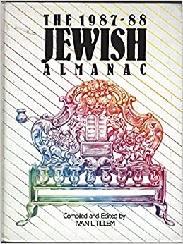 Book The 1987-88 Jewish Almanac
