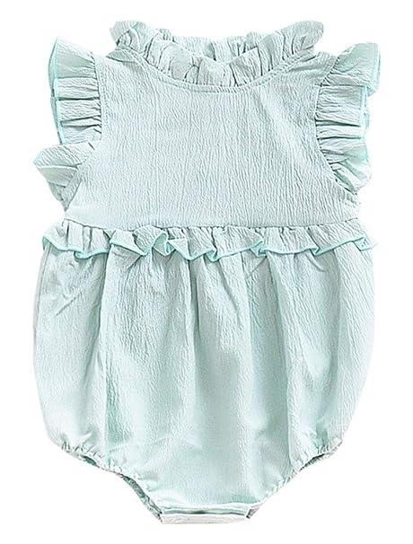 ARAUS Punto Ropa Bebe Niño Primavera 2018 Jumpsuit Outfits Lindo Conejo Ninas 3~18 Meses: Amazon.es: Ropa y accesorios