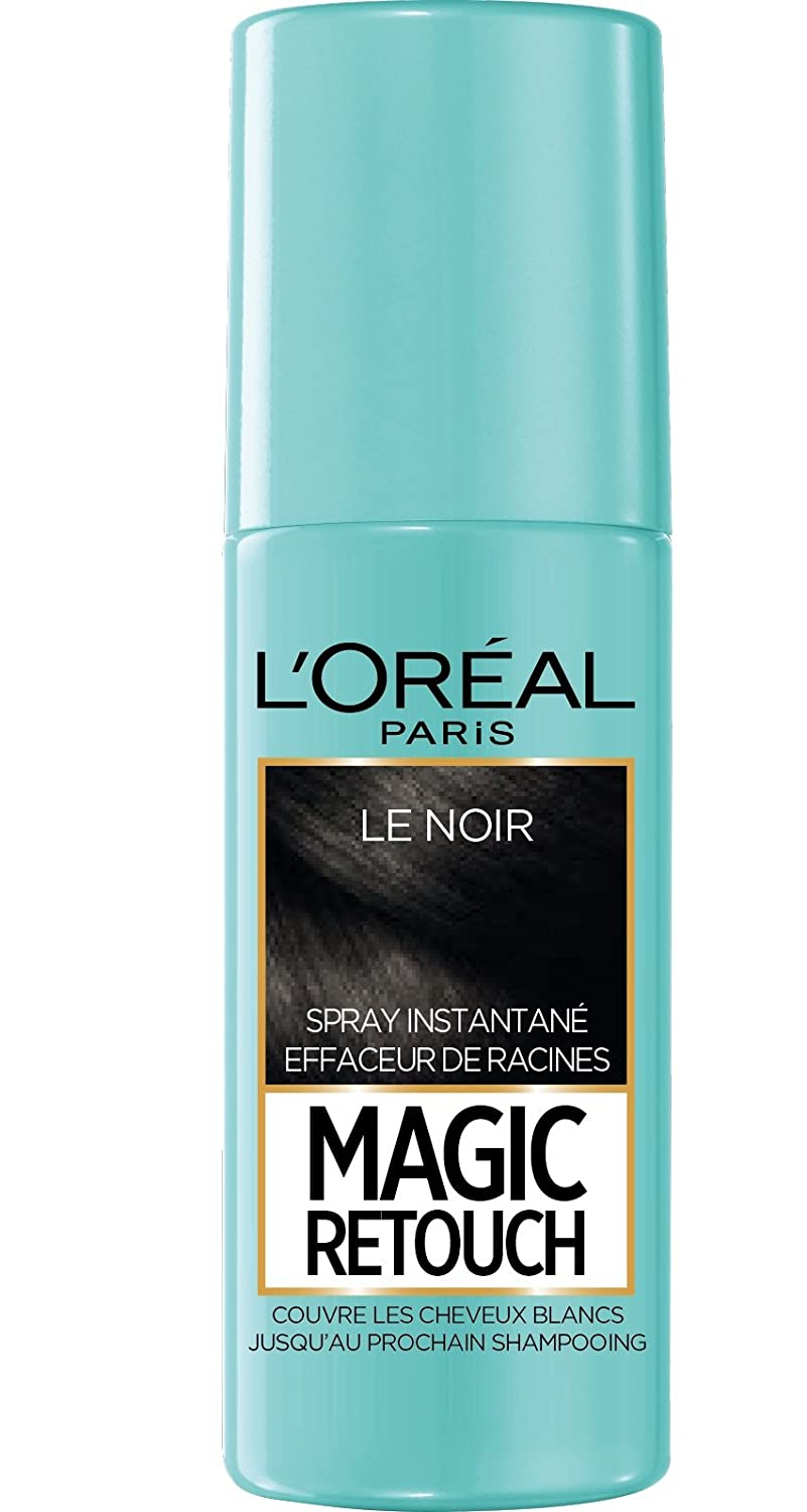L'Oréal Paris Magic Retouch Spray Retouche Racine Instantané Noir 75 ml