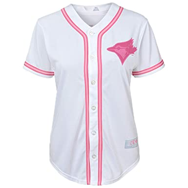 competitive price b3a1f 7d7f6 Amazon.com: Outerstuff Toronto Blue Jays Girls Toddler White ...