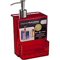 Dispenser Multi Coza Vermelho Transparente 1 Ps