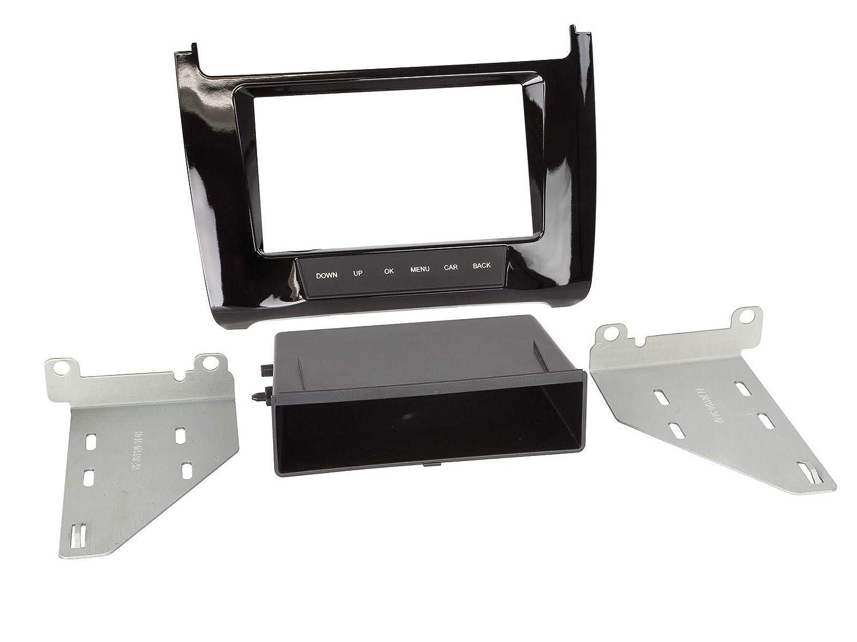 Acv - Bisel de Radio para VW Polo (6c), (6r), 2-DIN con ...