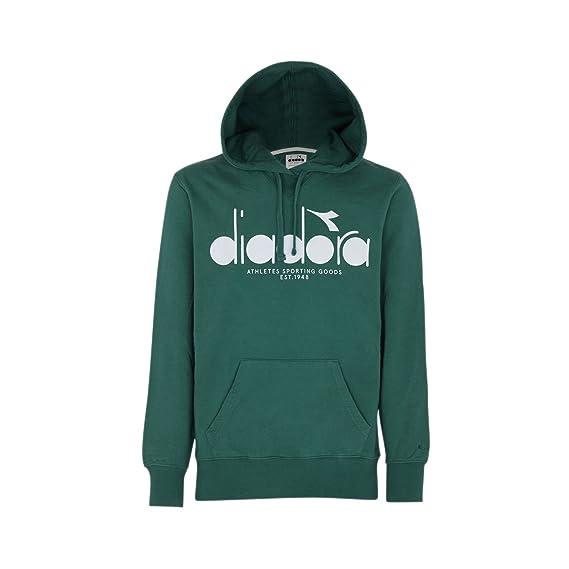 ef877d098f Diadora - Sweatshirt Hooded Sweat BL for Man: Amazon.co.uk: Clothing