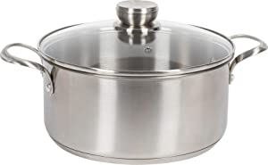 Frigidaire 11FFSPAN11 ReadyCook Cookware, 5 qt, Stainless Steel, 2 Pieces