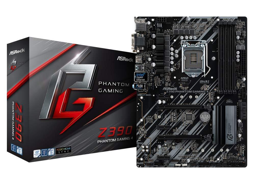 ASRock Z390 TAICHI LGA1151// Intel Z390// DDR4// Quad CrossFireX /& Quad SLI//