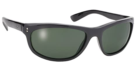 Dirty Harry Black Sunglasses with G-15 Grey Lens UV 400 Protection