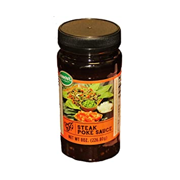 Amazon com : Hawaiian Steak Poke Sauce, For J's Hawaii 8oz