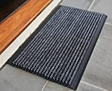 Mats Inc. World's Best Outdoor Mat 2.0, 18'' x 31'', Blended Gray