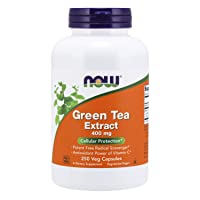 NOW Supplements, Green Tea Extract 400 mg with Vitamin C, Cellular Protection*,...