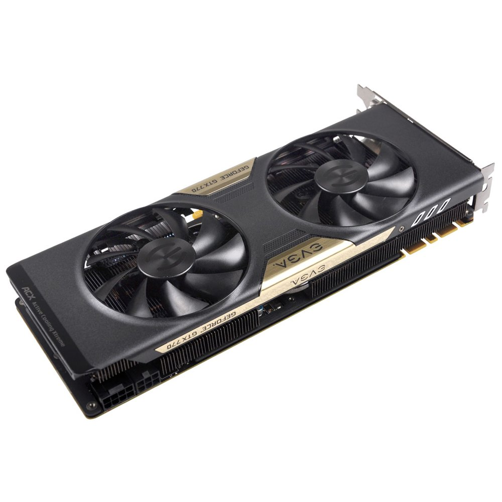 EVGA 02G-P4-2773-KR GeForce GTX 770 2GB GDDR5 - Tarjeta ...