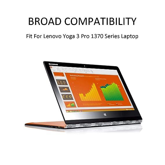 K KYUER 7.6V 44Wh 5900mAh L13M4P71 Batería para Lenovo Yoga ...