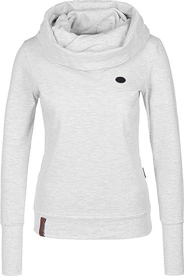 Naketano Kurzer Schniedelwutz W Sweater Amazing Grey Melange