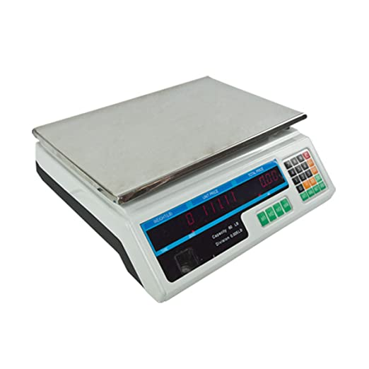 Amazon.com: NEW 60LB Commercial Retail Digital Food Scale Price ...