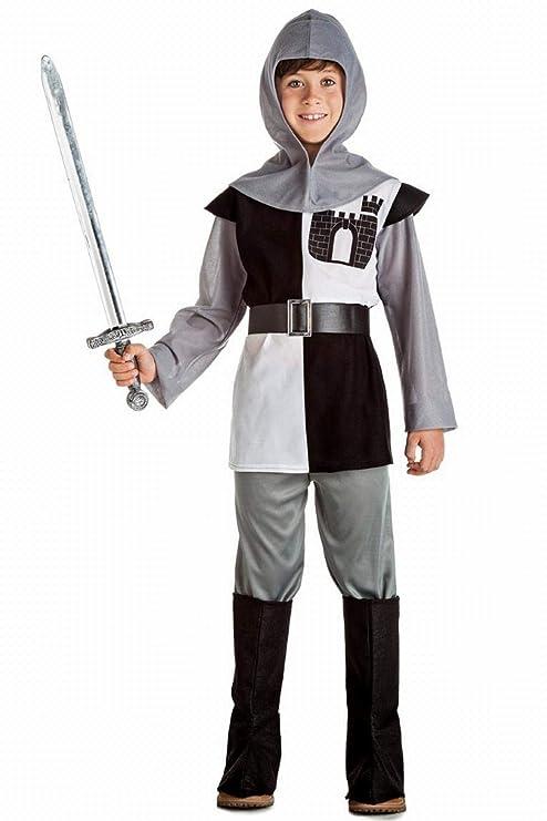 Disfraz de Caballero Medieval Niño (10-12 años): Amazon.es ...
