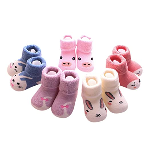 b87e42e28 Suit for 0-3 Years old Kids,DIGOOD 5 Pairs Toddler NewBorn Baby Girls