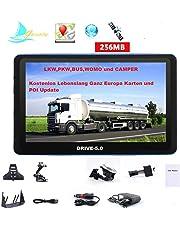 """GPS DRIVE-7.0 de 7"""" HD camiones, coche, autobús, una autocaravana. Europa nuevos mapas 2017"""